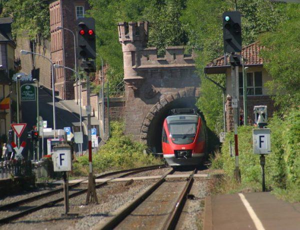 Sperrung der Bahnstrecke