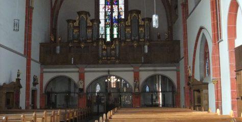 Evensong in der Stiftskirche Kyllburg
