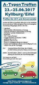 A-Typen-Treffen @ Campingplatz Kyllburg