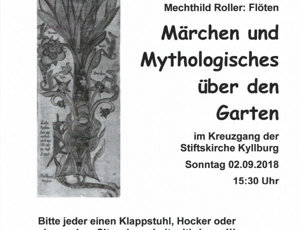 Bunter Kyllburger Sommer – Märchen und Mythen
