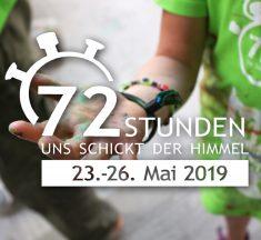 72-Stunden-Aktion 23.-26. Mai