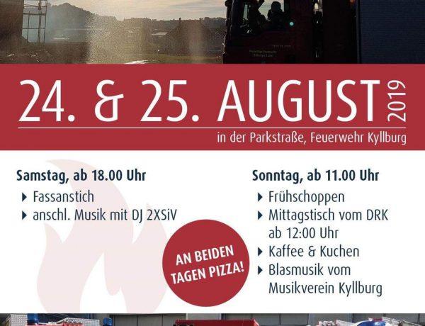 Feuerwehr Kyllburg feiert 150-jähriges Bestehen