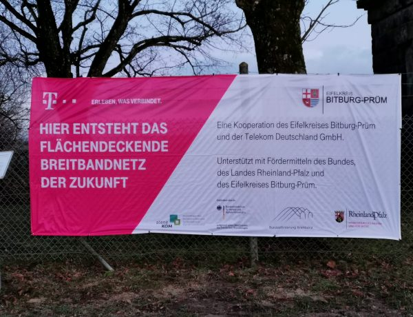 Informationen zum schnellen Internet Ausbau in Kyllburg und Umgebung