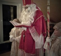 St. Nikolaus ist auf dem Weg